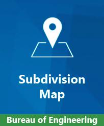Bureau of Engineering Subdivision Map Image