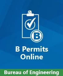 B of E B Permits Online