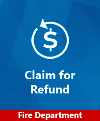 Claim for Refund Fire Image